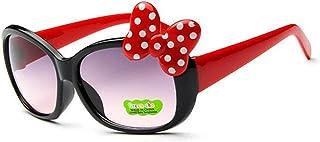 YUNGYE - YUNGYE NUEVOS niños de los anteojos de Sol aleación de Las Muchachas de la Manera Caliente Niño Niña Niño Retro clásico Lindo Gafas de Sol UV400 (Lenses Color : C1)