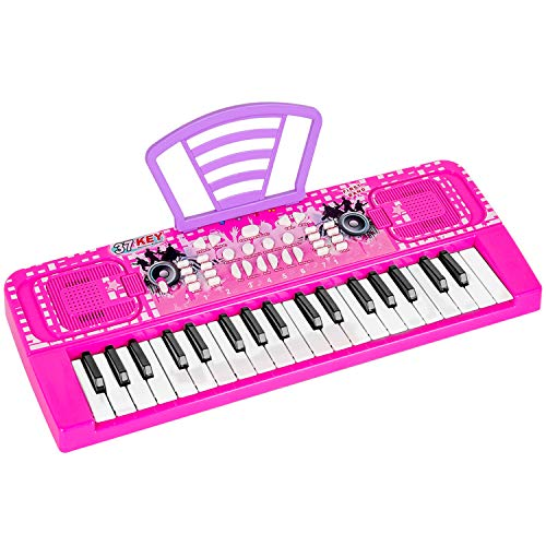 M SANMERSEN Piano Keyboard for Kids, 37 Keys Portable...