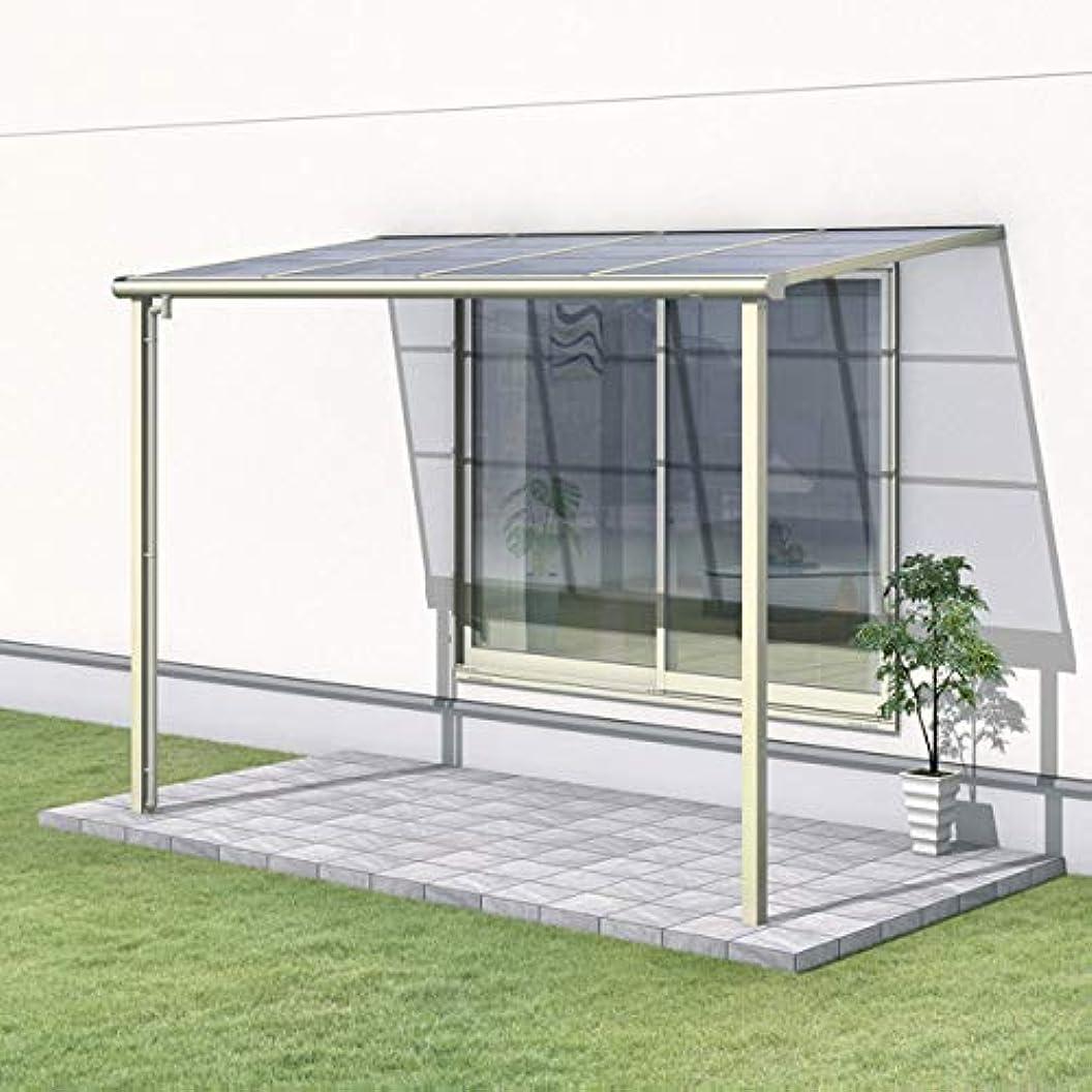 アミューズメントサイクロプス傾向があります三協アルミ レボリューA 1.5間×3尺 600タイプ/関東間/1階用F型/標準収まり/単体 ポリカーボネート 『テラス屋根』 アーバングレー