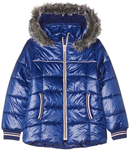ESPRIT KIDS Mädchen Rp4202507 Outdoor Jacket Jacke, Blau (Marine Blue 446), 164 (Herstellergröße: L)