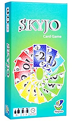 Magilano SKYJO The Ultimate Card Game for Kids and Adults. The Ideal Board Game for Funny, Entertaining and exciting Playing Hours with Friends and Family. by Magilano