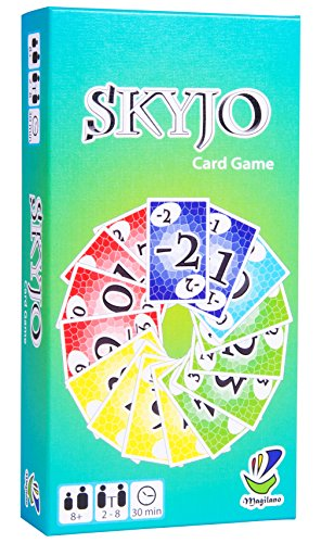 Magilano SKYJO The Ultimate Card Game for Kids and Adults The Ideal Board Game for Funny Entertaining and exciting Playing Hours with Friends and Family