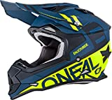 O'Neal unisex-adult off-road style 2SERIES Helmet SPYDE black/hi-viz L, Large