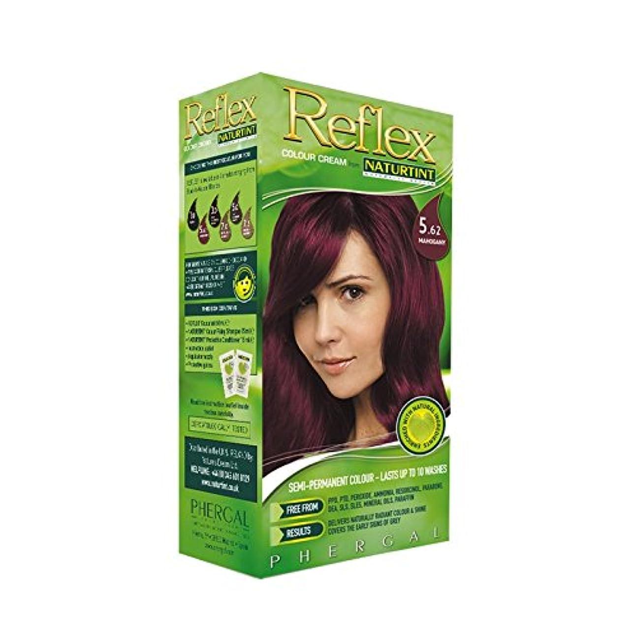 シール打たれたトラック相手Naturtint Reflex Non Permanent Colour Rinse 5.62 Mahogany (Pack of 6) - Naturtint反射非永久的な色は5.62マホガニーをすすぎます (x6) [並行輸入品]