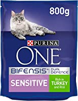 With PURINA ONE BIFENSIS. A unique nutritional formula with beneficial functional bacteria scientifically proven to help support your cat's natural defences from the inside out. Firm stools with 24* less odour in 14 days thanks to natural fibres *Pur...