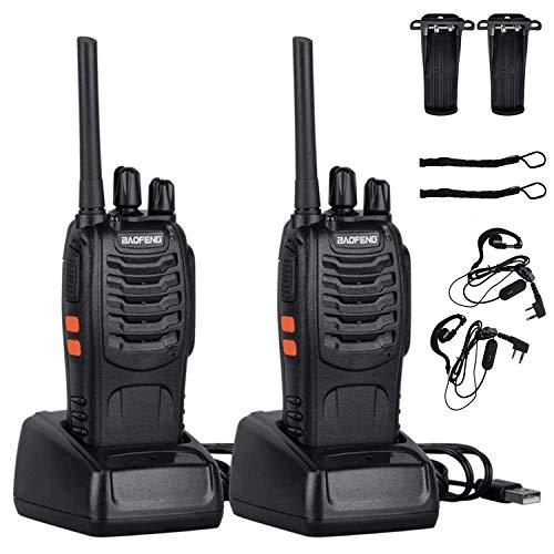 Walkie Talkie Recargable Largo Alcance Marca manyile