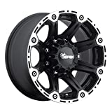 Dick Cepek Torque Flat Black Wheel with Machined Accents (16x8'/6x5.5') 0 millimeters offset