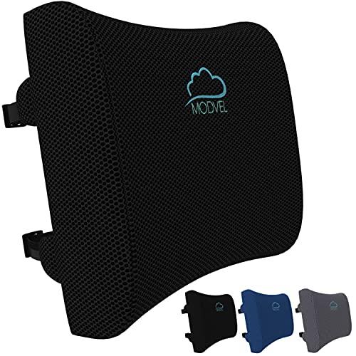 MODVEL Lumbar Support Pillow for Office Desk Chair - Memory Foam...