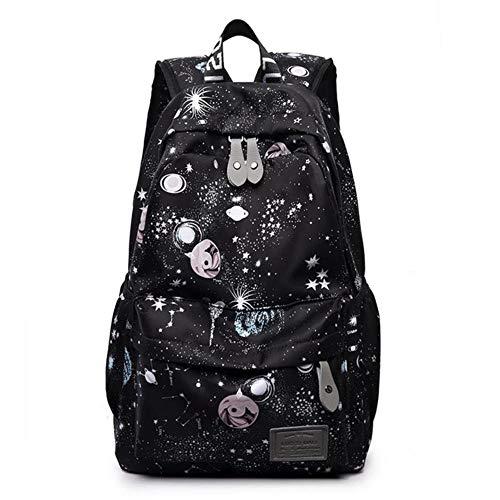 ZYXYY Mochila de mujer con patrón estrellado, mochila escolar de alta capacidad, mochila para estudiantes universitarios, mochilas escolares para niñas adolescentes,mochila femenina
