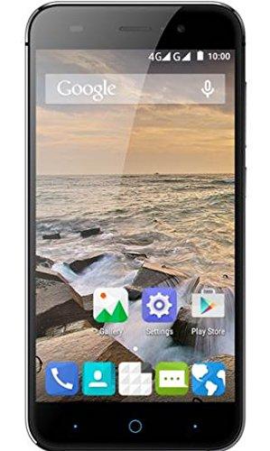 ZTE Blade L6 Smartphone (12,7 cm (5 Zoll) Bildschirm, 8 Megapixel Kamera, 8 GB Speicher) Grau