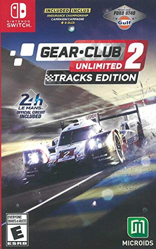 Gear Club Unlimited 2 - Tracks Edition (NSW) - Nintendo Switch
