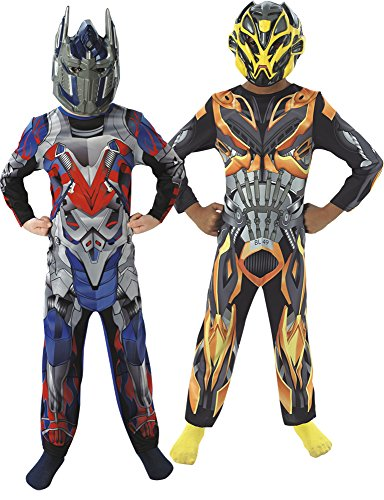 Transformers 4 - kostuum OP prime-bum Bee 2 x 1 box modern Small Geen gegevens