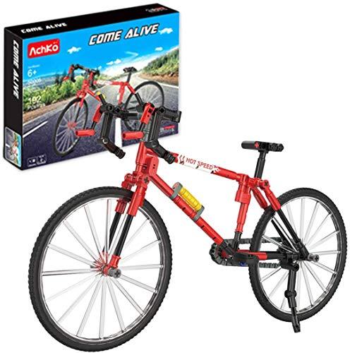 CaseFun Technik Mountain Bike Bausteine [192 Teile ] Kompatible mit Lego Technic Kinder 5-12 Jahre Bausteine Spielzeug Fahrrad
