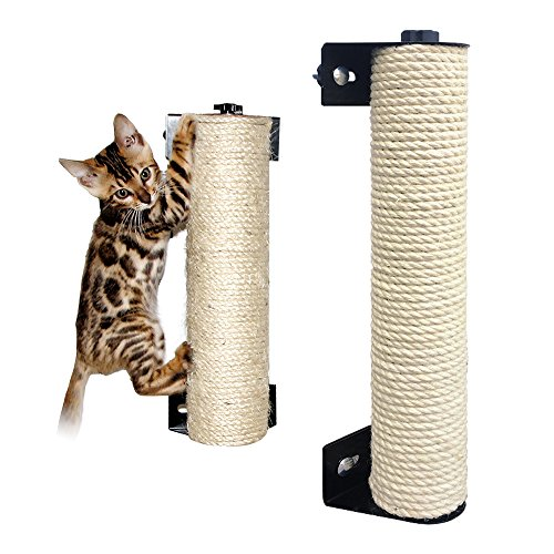 LOHOME Cat Scratching Post - The Cat Scratching Pole Designed for Cage Cat Scratcher Made by Sisal...