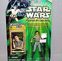 スターウォーズ緑台紙 Leia Organa