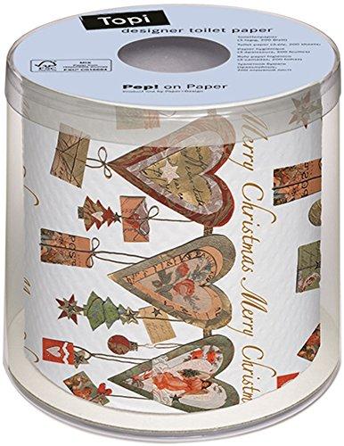PAPER+DESIGN Toilettenpapier FSCMix 200 Bl. Wonderful hearts