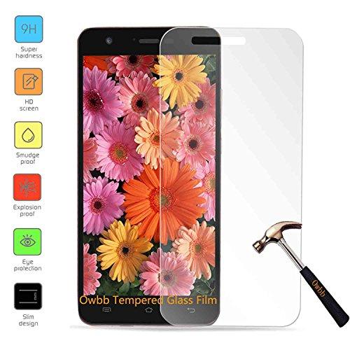 Owbb Glas Display Schutzfolie für JIAYU S3 Smartphone Screen Panzerglas Protector Hartglas Schutzfolie Ultar Clear