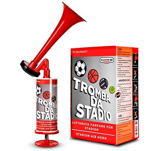 SELEZIONE100 bocina aire comprimido, trompeta aire comprimido, bocinas de aire comprimido, salvamento maritimo, bocina manual air horn, trompeta futbol bocina de aire,...