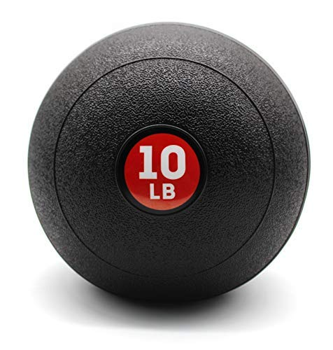 STRPRETTY BASIC Weight Training Slam Ball Medicine Ball 10 lbs Ideal for Cross Training Core Exercises Plyometric and Cardio Workouts