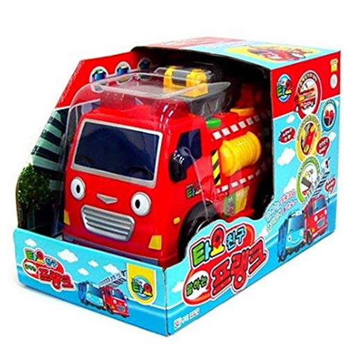 Tayo Heavy Equipment Friends Talking Frank, The Little Bus Friends Car Gift for Boys Birthday Christmas Car Toy
