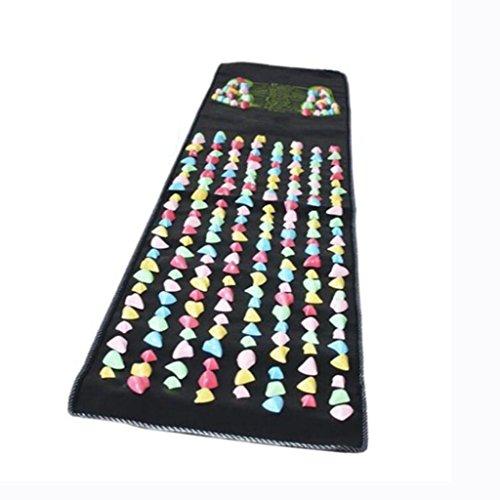 YB- Fuß-Massage-Matte Die Straße Der Gesundheit Fuß-Massagegerät Color Stone Massage Blanket