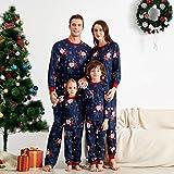 Pijamas Mujer Camisón Conjuntos De Pijamas Navideños A Juego con La Familia, Navidad, Adulto, Padre, Madre, Hija, Papá Noel, Ropa De Dormir, Ropa De Dormir, Traje De 6M Multi