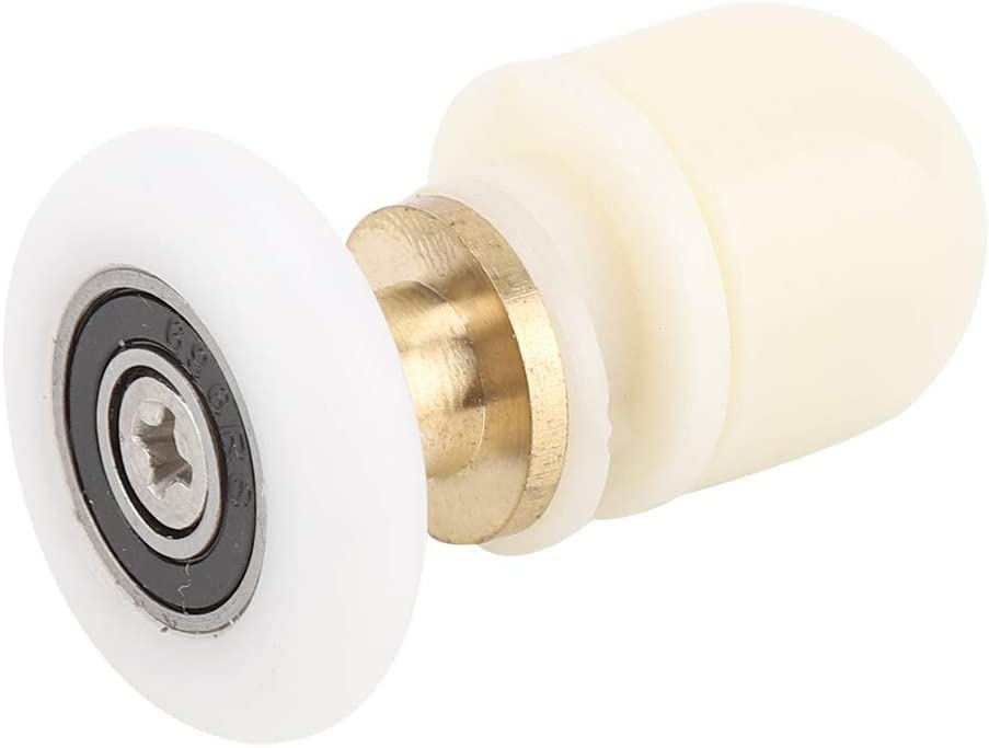 8PCS Shower Door Rollers security Strong Brass Max 68% OFF Load-Bearing ABS Capacity