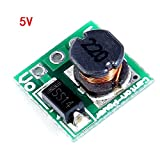 Tiptiper 1.5V / 1.8V / 2.5V / 3V / 3.3V 4.2V a 3.3V / 5V elevador de tensión ...