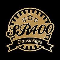 SR400 Classic Style カッティング ステッカー ゴールド 金