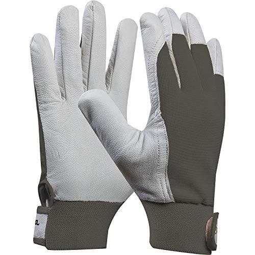 GEBOL 703431 Uni-Fit Comfort Arbeits-Handschuh, Grau, Größe 8 (M), 1 Paar