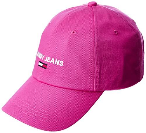 Tommy Jeans Damen Tjw Sport Cap Schirmmütze, Pink (Pink Tz7), One size