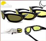 BIKERHADES Photochromic Motorcycle Sunglasses Day Night...