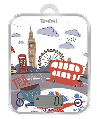 Tefal BC5124V0 Bc Optiss Balance Culinaire Optiss Cities Décor Londres Aluminium Multicolore 18 x 2,9 x 23,2 cm