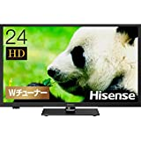 ハイセンス Hisense 24V型 液晶テレビ -外付けHDD録画対応(裏番組録画)/メーカー3年保証- 24A50
