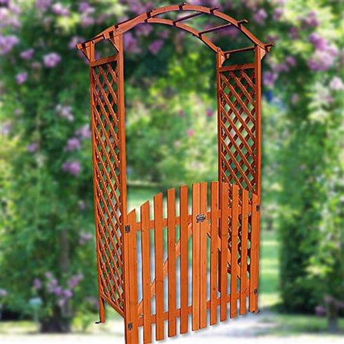 Melko Rosenbogen Holz Eingangspergola Laubengang Holzbogen Garten Torbogen