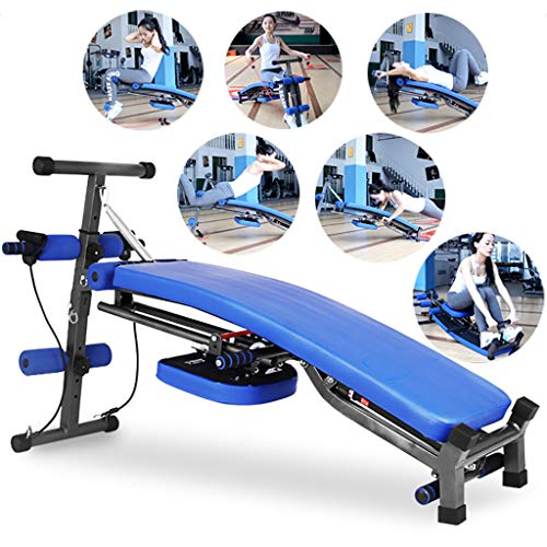 Indoor Rowing Machine, Load Bearing 200Kg/440Lb, Six in One Multifunction Silent Rowing Device with 12...