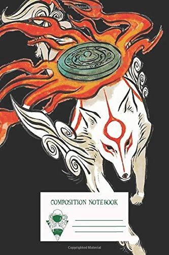 Composition Notebook: Amaterasu Workbook for Adult