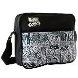 Marvel Messenger Bag, 34 cm, Schwarz