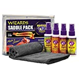Wizards Motorcycle Cleaner Kits (Saddle Pack)