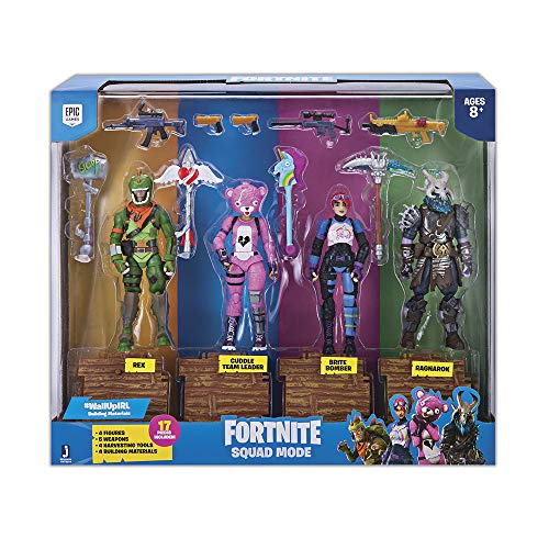 Fortnite Squad Mode 4 Figure Pack, Series 1