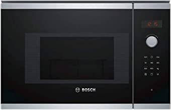 Bosch BEL523MS0 - Microondas integrable / encastre, 800 W, 20 L, color negro