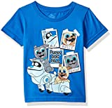Disney Boys' Toddler Puppy Dog Pals Rolly, Bingo, ARF Short Sleeve Tshirt, Royal, 2T