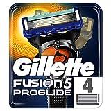 Gillette Fusion ProGlide Lamette di Ricambio per Rasoio, 4 Lamette