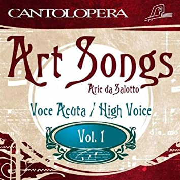 Cantolopera: Art Songs Vol. 1 For High Voice