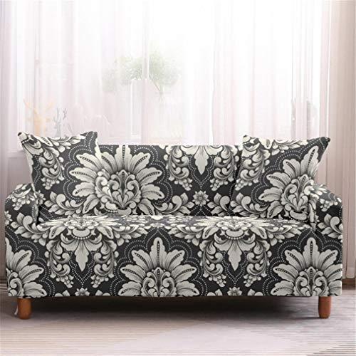 wjwzl Sofabezug für Hochstuhl, rutschfest, elastisch, Sofabezug für Schlafzimmer, Wohnzimmer, S, 13N, (4 Sitze)+(4 Sitze)