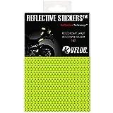 VFLUO 3M Reflective Colors, Lámina Retro Reflectante para Recortar para Motocicleta, Scooter, Cascos de Bicicleta, Multiusos, Fluo Reflective, 10x15 cm, Amarillo neón