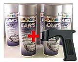 Dupli Color Car's - Imprimación antióxido para coche (6 latas de 400 ml + spray maestro (como pistola) Cars