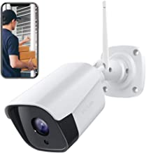 Victure Security Outdoor Camera 1080P Weatherproof WiFi Security Camera,CCTV Camera System with Night Vision, Two Way Audio, Motion Detection, Outdoor camera Compatible with IOS/Android