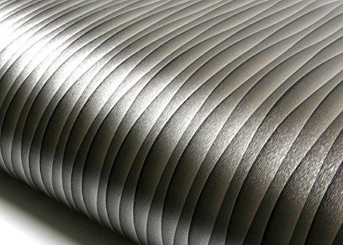 ROSEROSA Peel and Stick Flame Retardant PVC Wave Instant Self-Adhesive Covering Countertop Backsplash Cubic Wave (MF5176-3 : 2.00 Feet X 6.56 Feet)