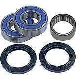 Caltric Rear Wheel Ball Bearings & Seals Kit Compatible with Yamaha R1 Yzfr1...